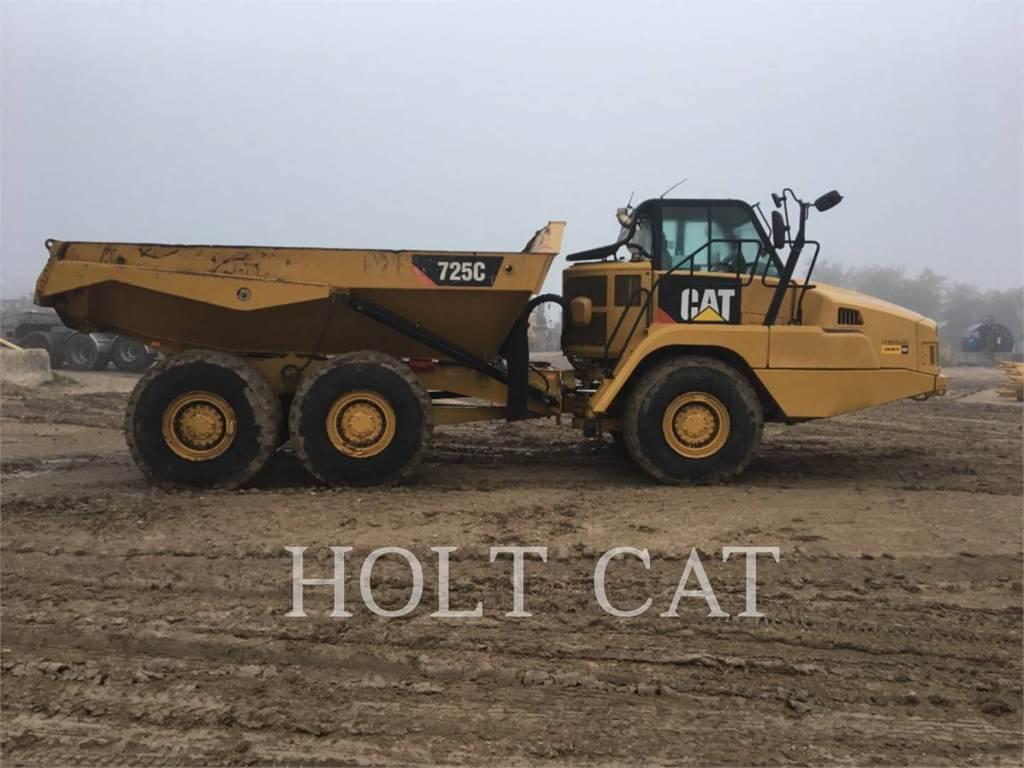Caterpillar 725C, Camiões articulados, Equipamentos Construção
