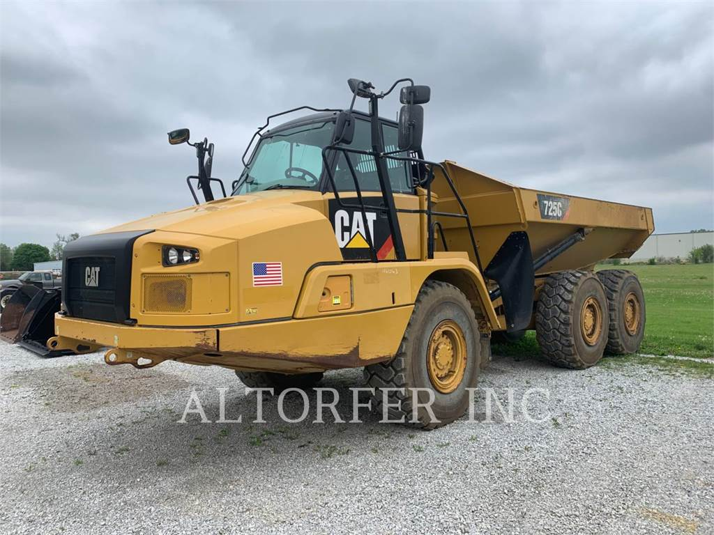Caterpillar 725C, Articulated Dump Trucks (ADTs), Construction