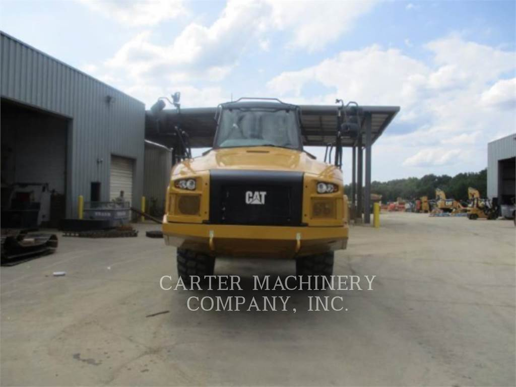 Caterpillar 725C2、アーティキュレート式ダンプトラック、建設