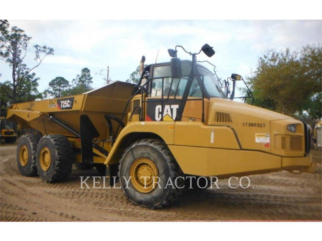 Caterpillar 725C2, Dumper - Knickgelenk, Bau-Und Bergbauausrüstung