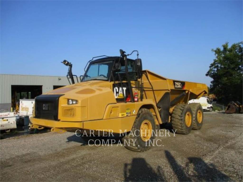 Caterpillar 725C2, Transportoare articulate, Constructii