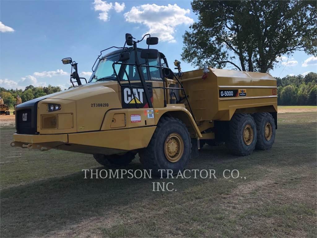 Caterpillar 725C2, Transportoare articulate, Constructii