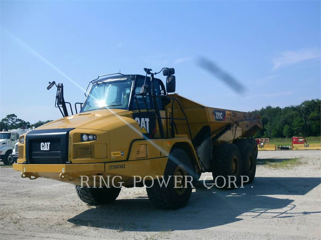 Caterpillar 725C2, Articulated Dump Trucks (ADTs), Construction