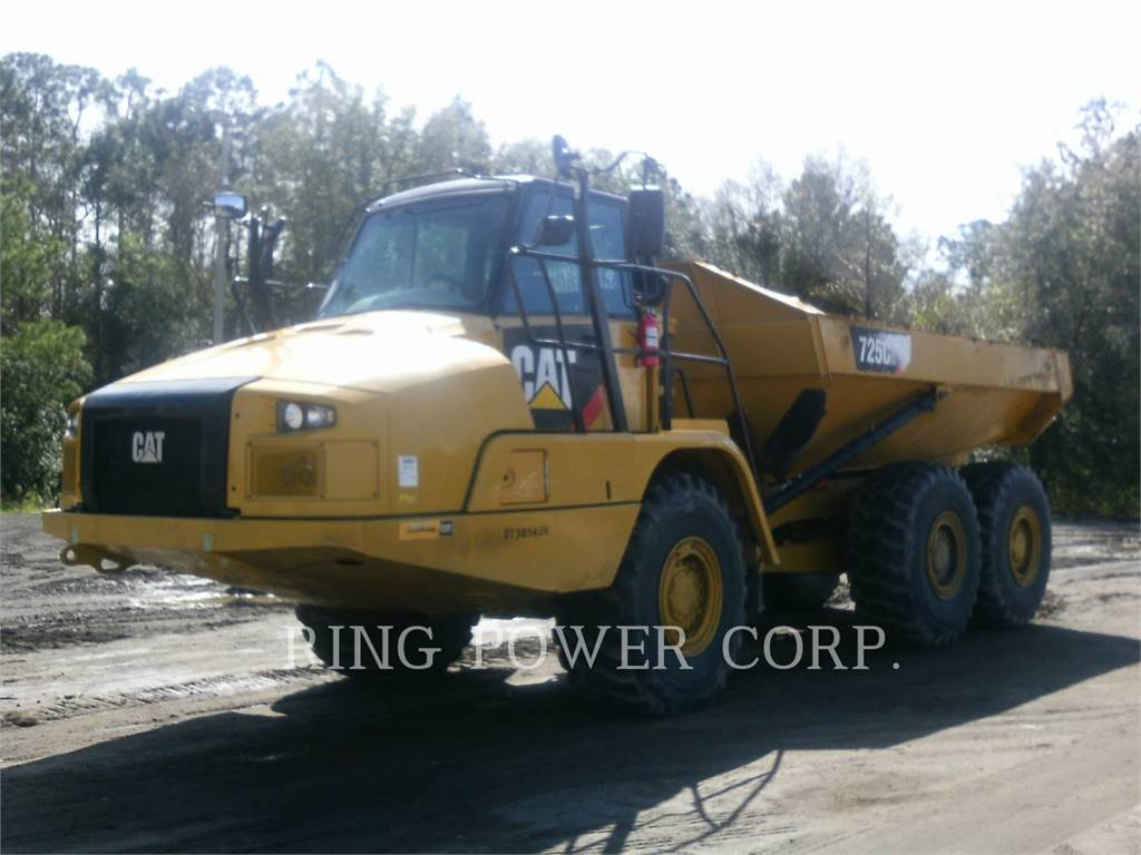 Caterpillar 725C2TG, Articulated Dump Trucks (ADTs), Construction