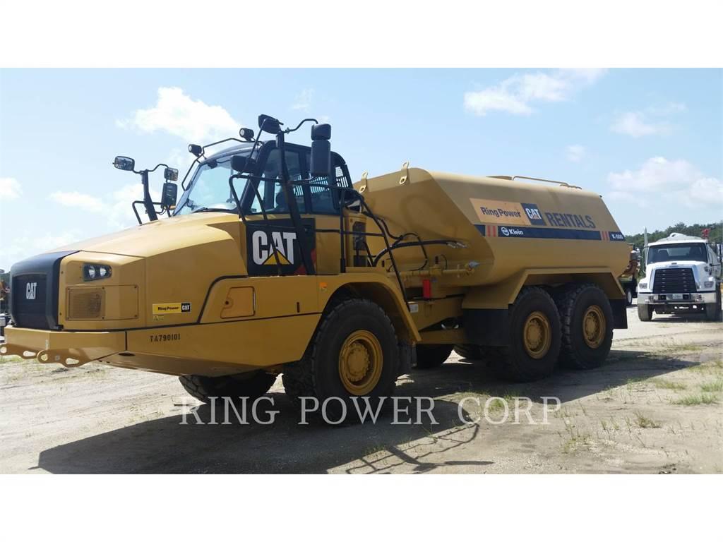 Caterpillar 725C2WW, camiones de agua, Transporte