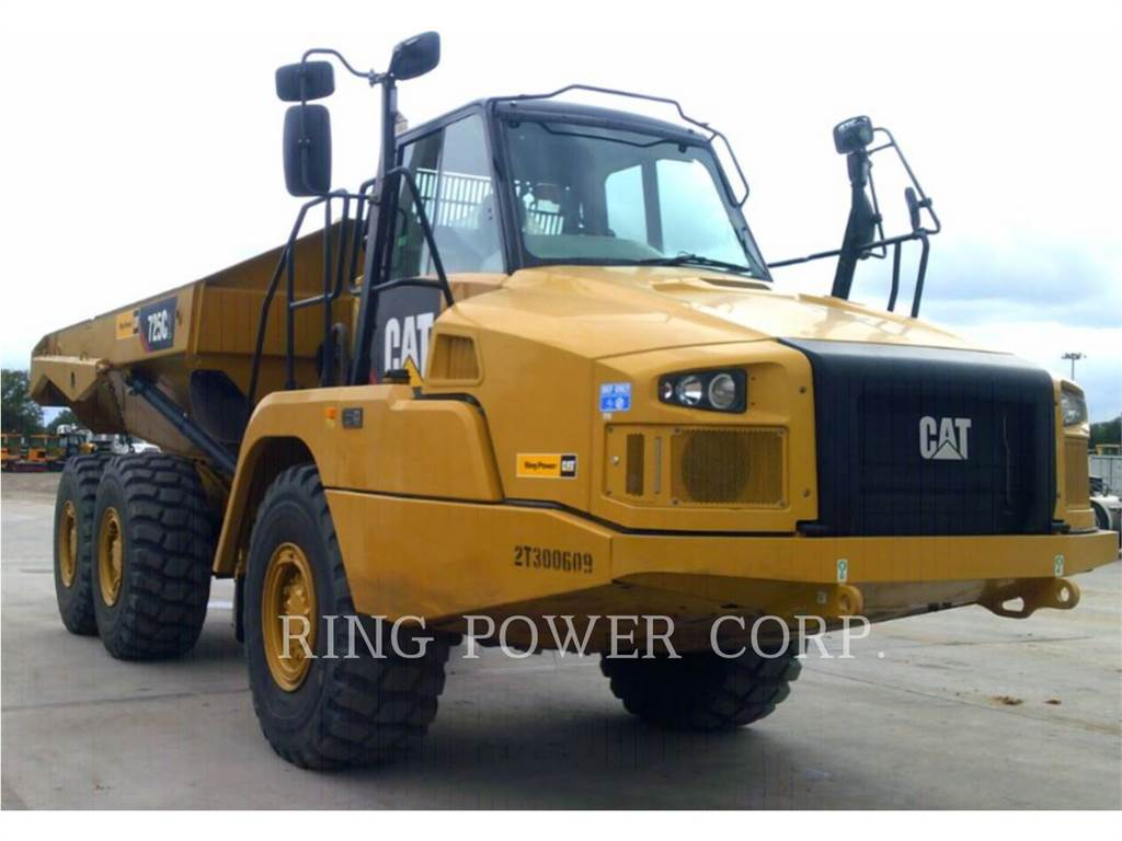Caterpillar 725C2WW, water trucks, Transport