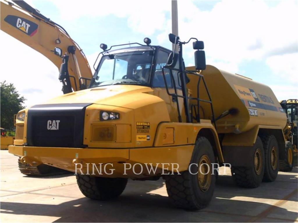 Caterpillar 725C2WW, watertrucks, Vervoer