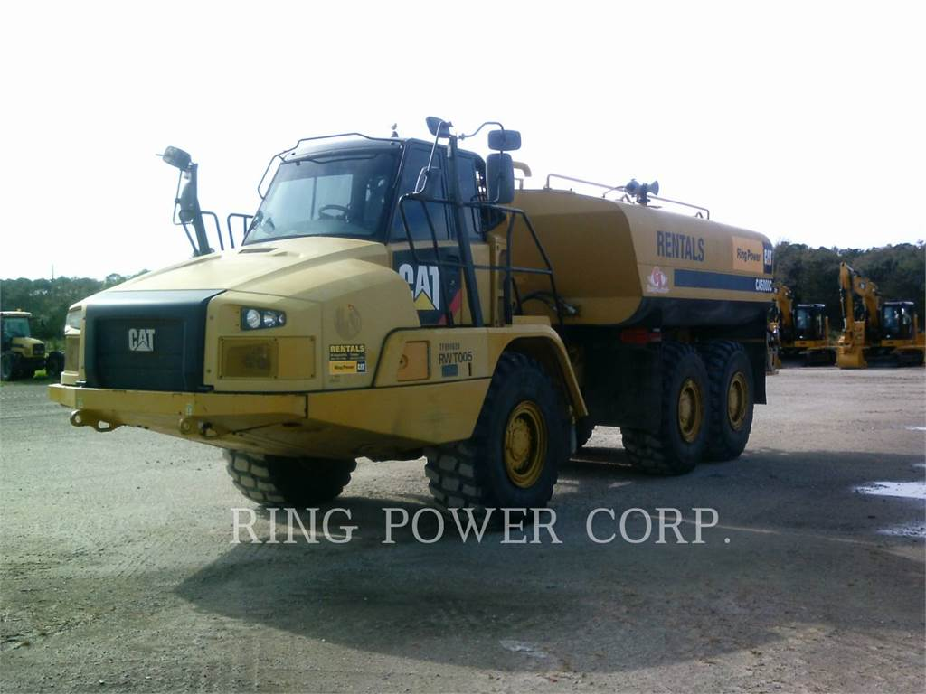 Caterpillar 725CWW, water trucks, Transport