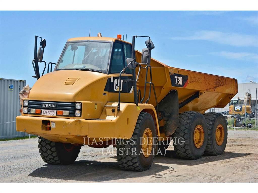 Caterpillar 730, Tombereau articulé, Équipement De Construction