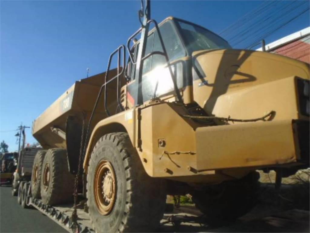 Caterpillar 730, Camiões articulados, Equipamentos Construção