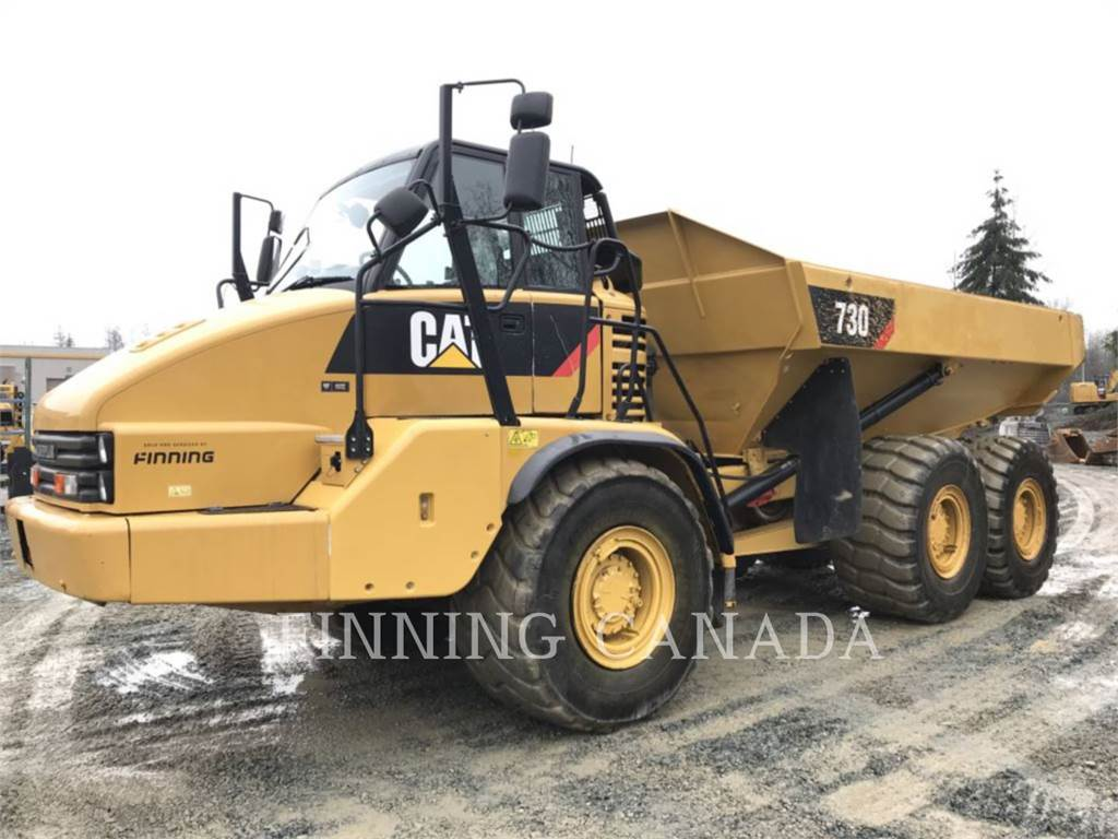 Caterpillar 730, Articulated Dump Trucks (ADTs), Construction