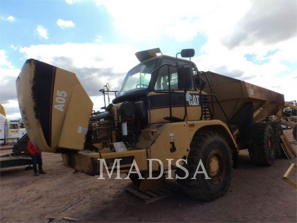 Caterpillar 730, Transportoare articulate, Constructii