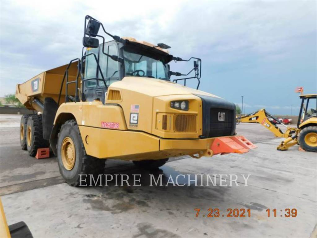 Caterpillar 730-04, Articulated Dump Trucks (ADTs), Construction