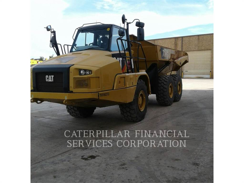 Caterpillar 730 C, Dúmpers articulados, Construcción