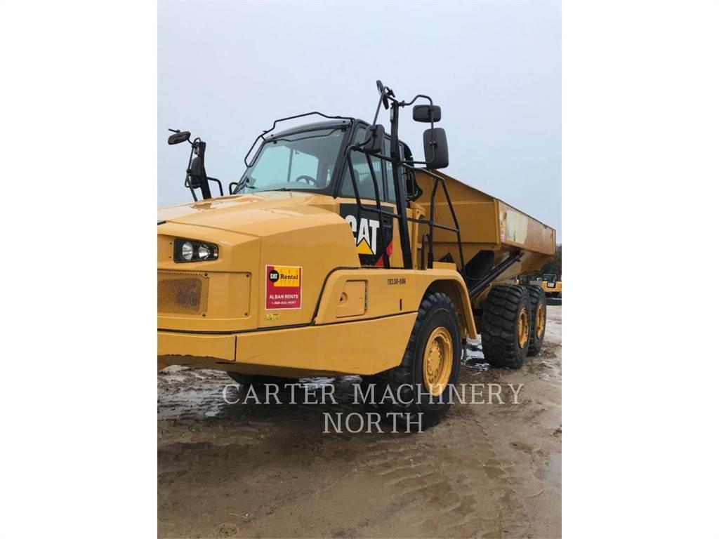 Caterpillar 730 C 2, Camiões articulados, Equipamentos Construção