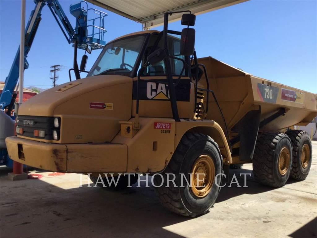 Caterpillar 730, Transportoare articulate, Constructii