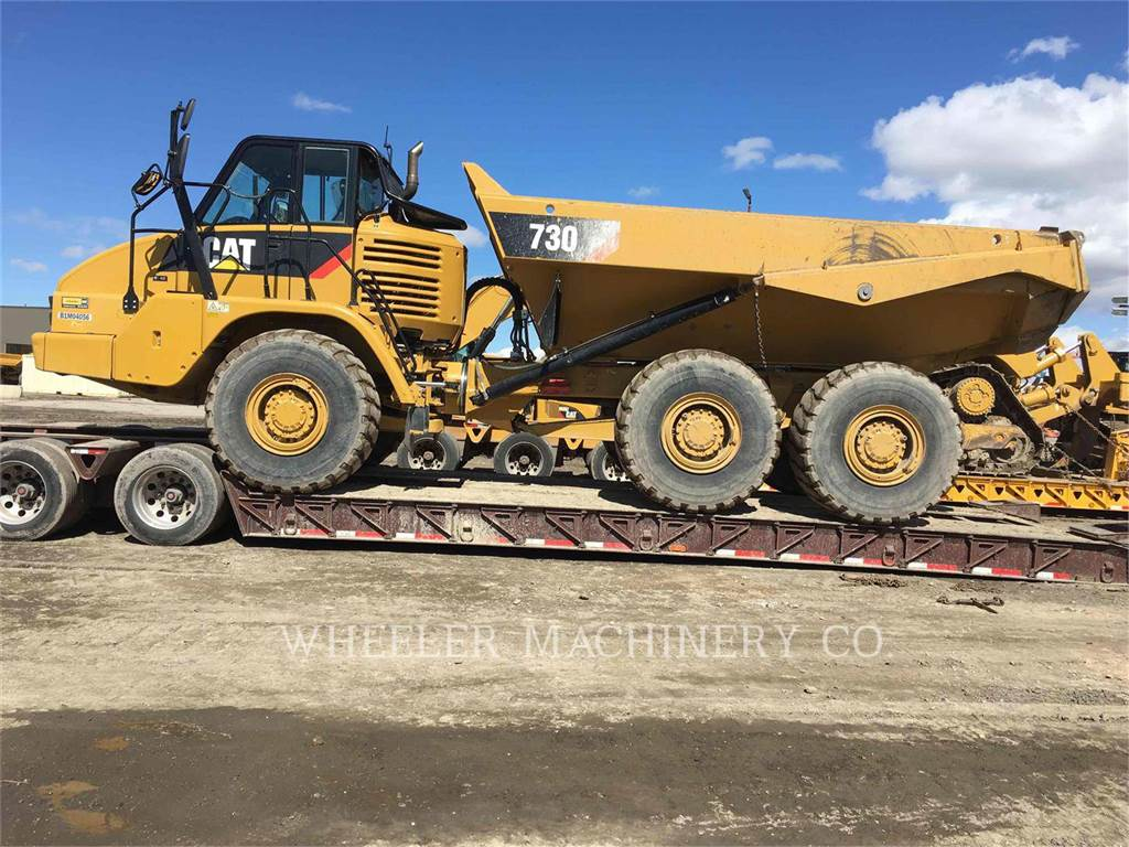 Caterpillar 730 TG, Articulated Dump Trucks (ADTs), Construction