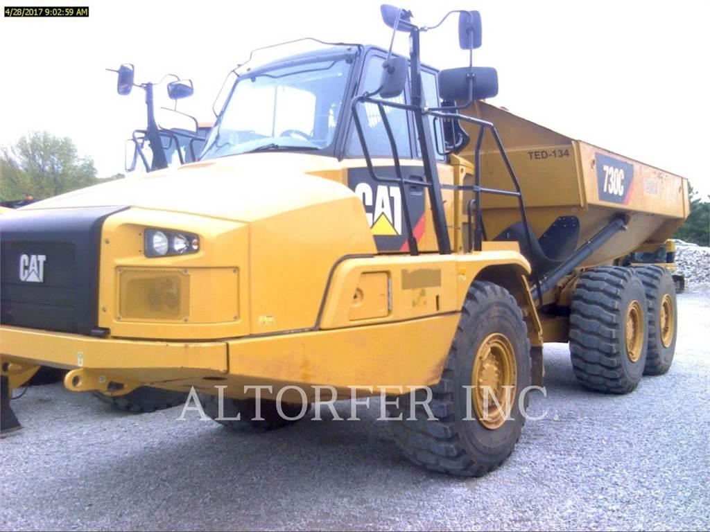 Caterpillar 730C, Tombereau articulé, Équipement De Construction