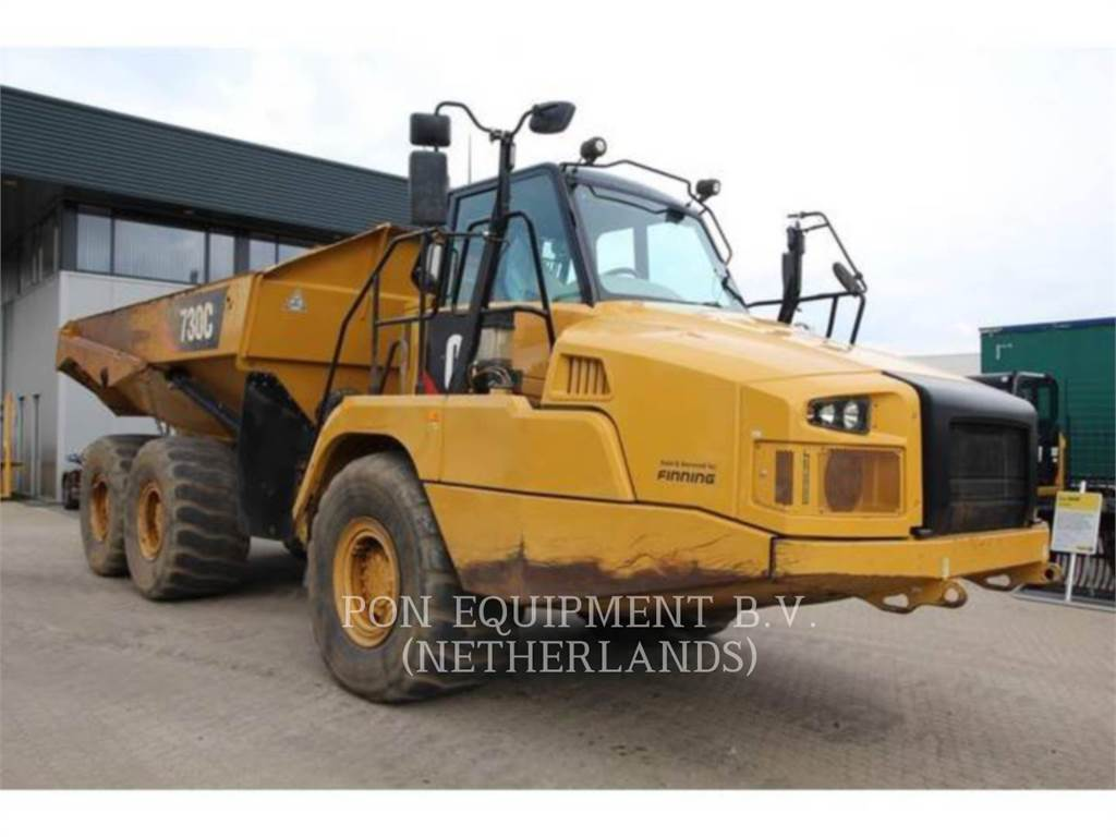 Caterpillar 730C, Camiões articulados, Equipamentos Construção