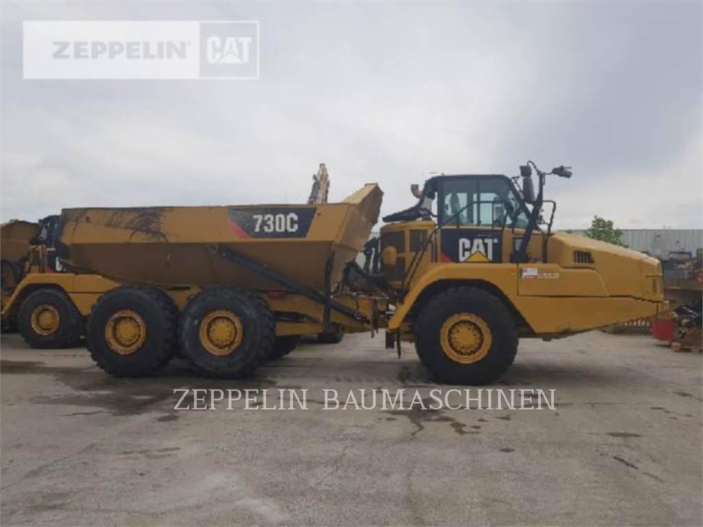 Caterpillar 730C, Dumpers articolati, Attrezzature Da Costruzione