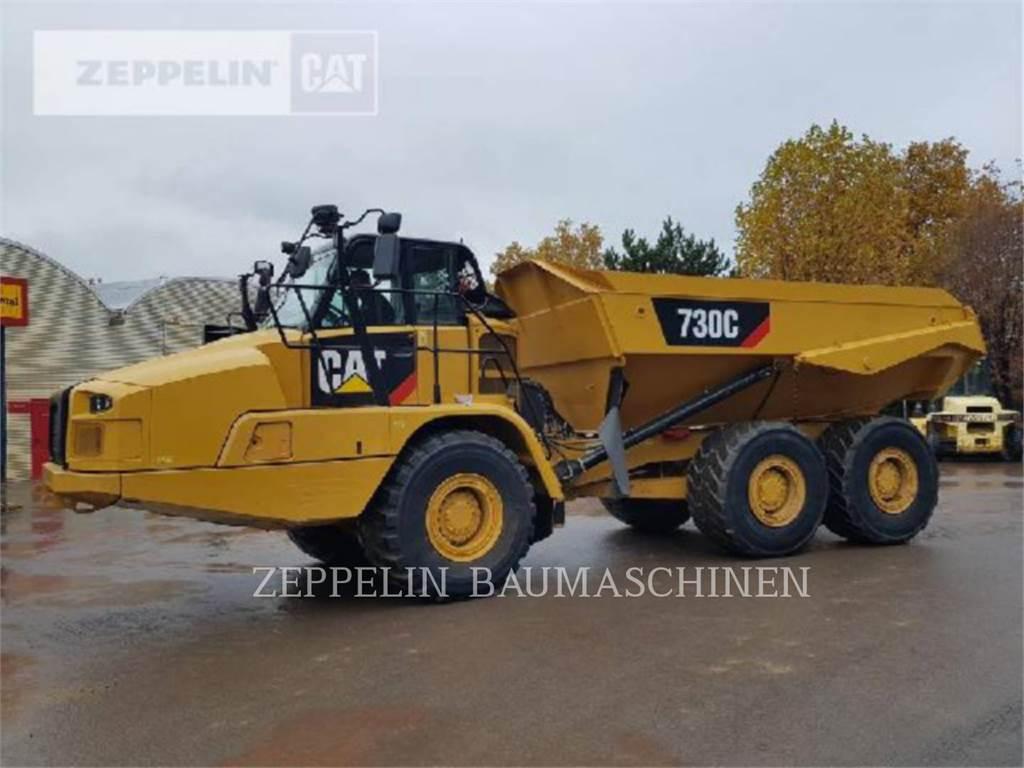 Caterpillar 730C, Transportoare articulate, Constructii