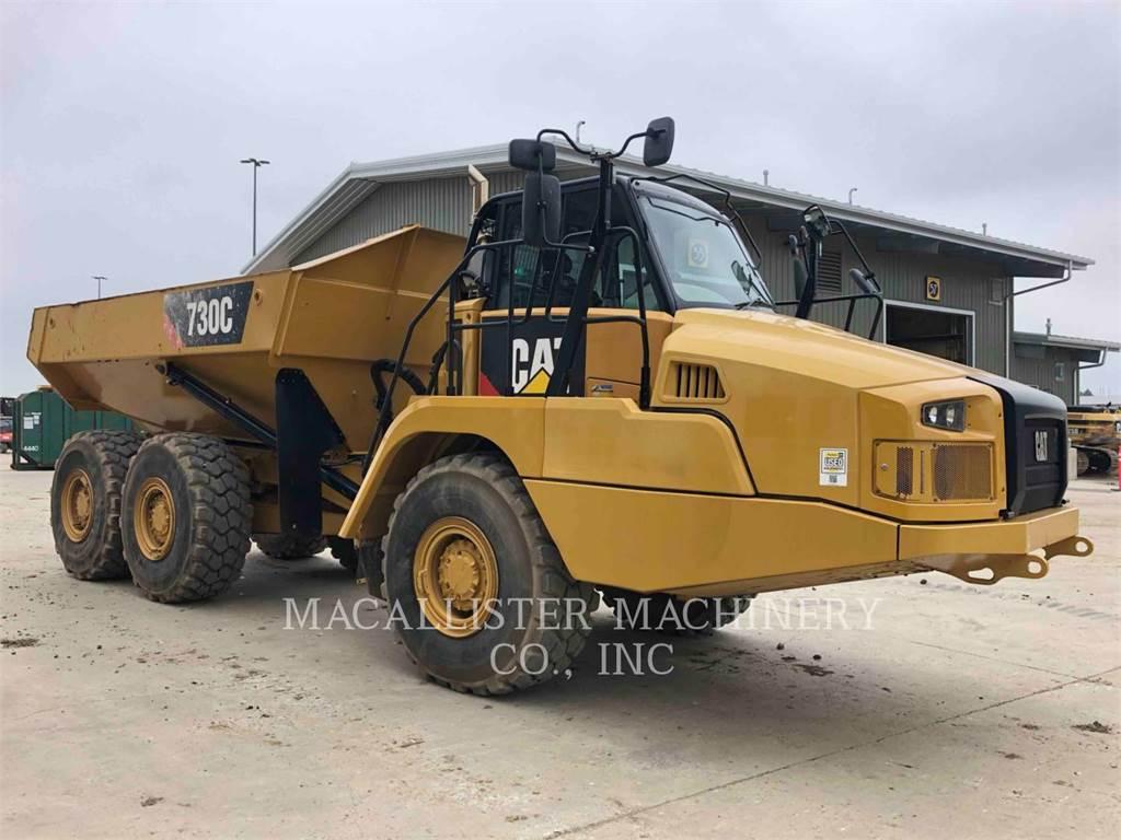 Caterpillar 730C (G), Tombereau articulé, Équipement De Construction