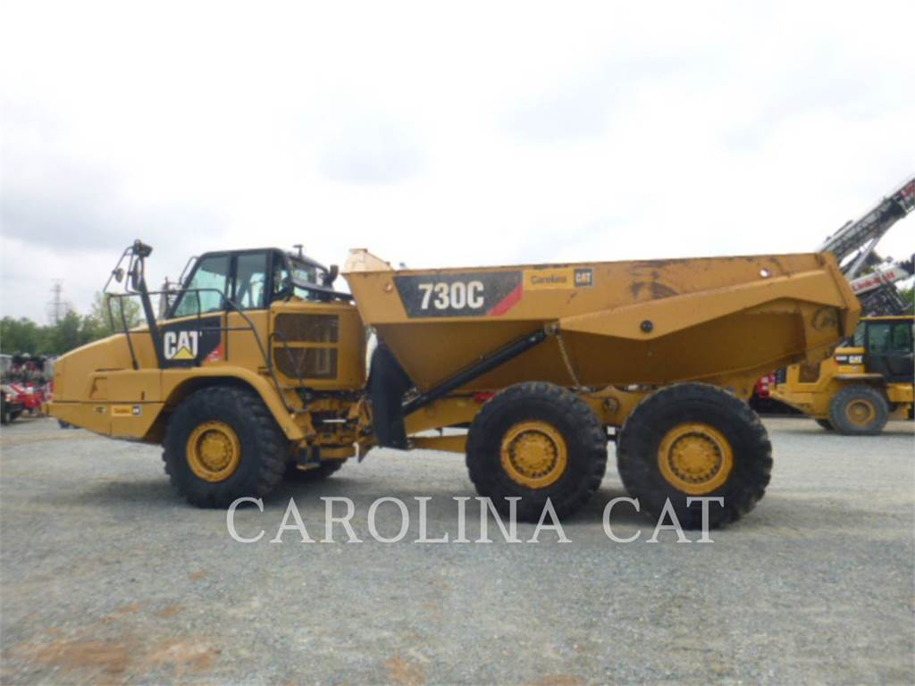 Caterpillar 730C TG, Transportoare articulate, Constructii