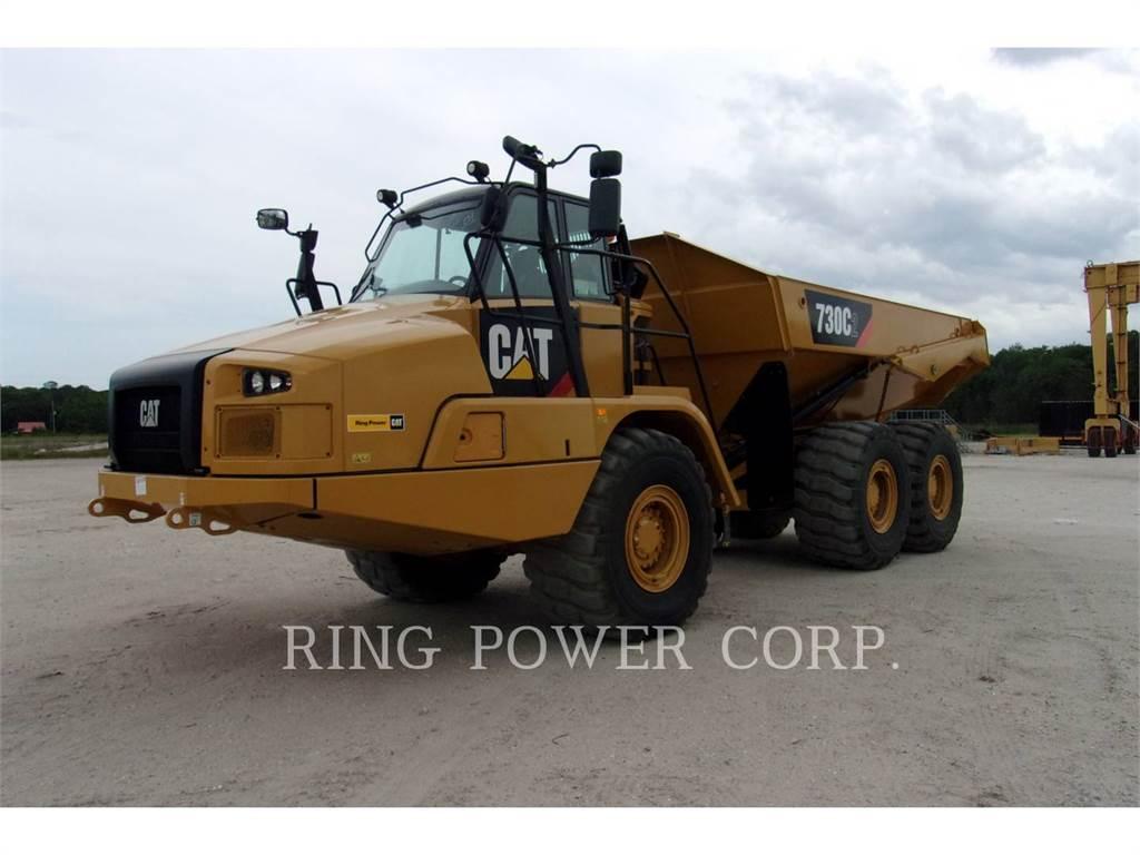 Caterpillar 730C2, Dumper - Knickgelenk, Bau-Und Bergbauausrüstung