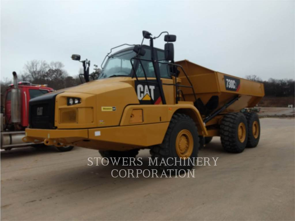 Caterpillar 730C2, Transportoare articulate, Constructii