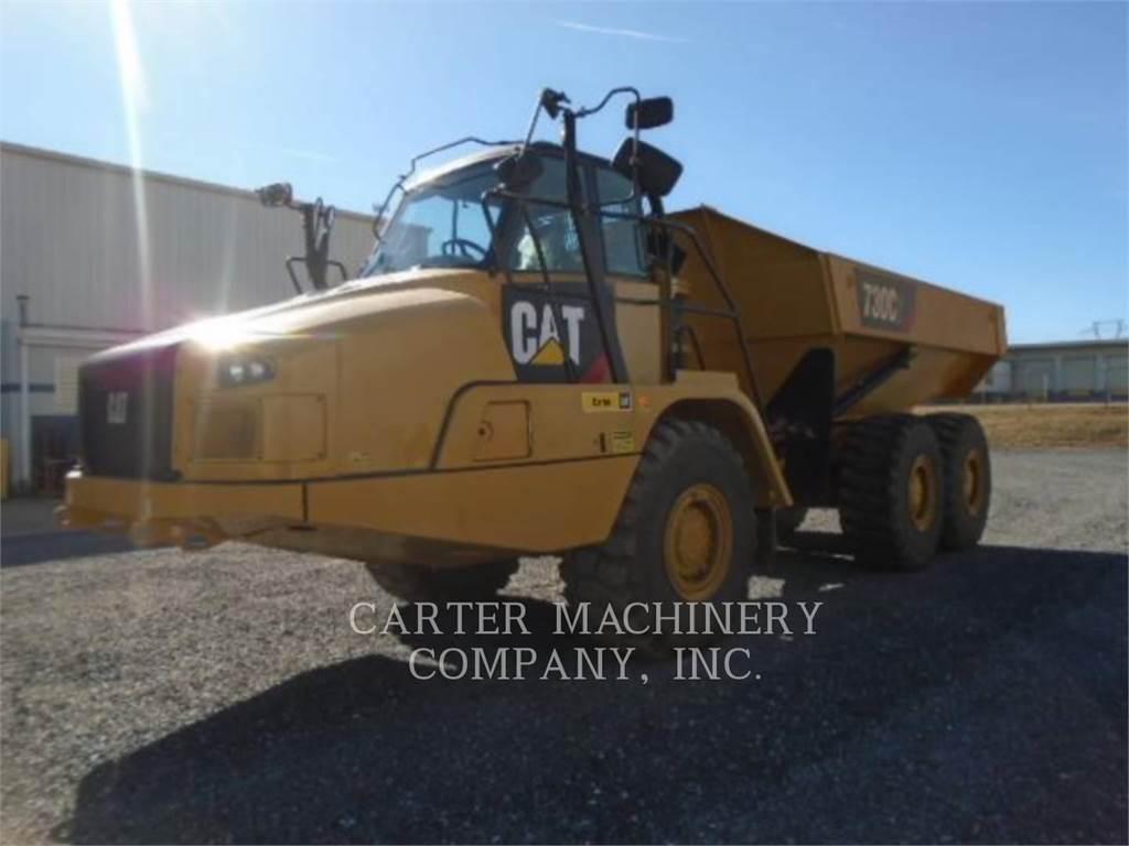 Caterpillar 730C2, Dúmpers articulados, Construcción