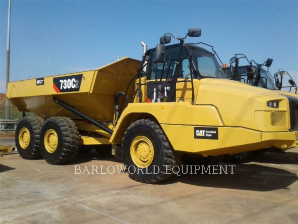 Caterpillar 730C2, Articulated Dump Trucks (ADTs), Construction