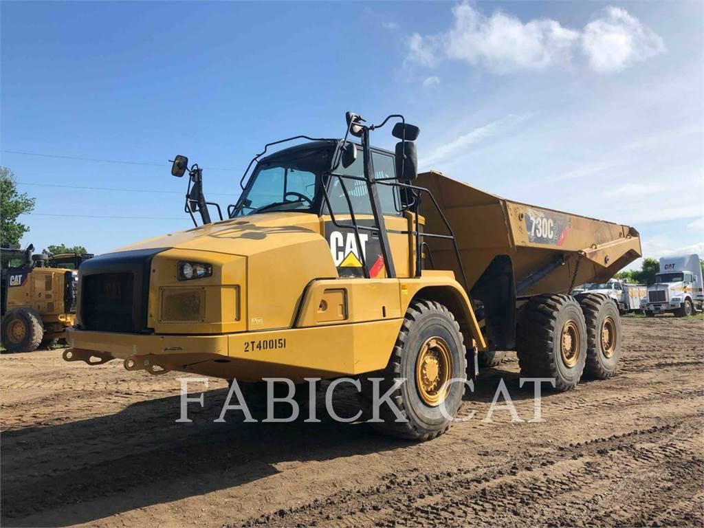 Caterpillar 730C2, Camiões articulados, Equipamentos Construção