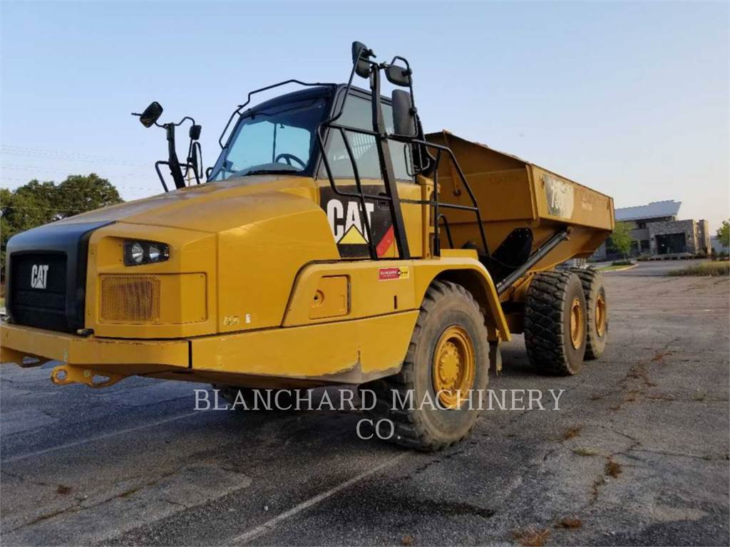 Caterpillar 730C2, Articulated Dump Trucks (ADTs), Construction