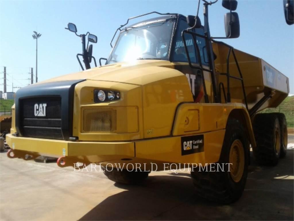 Caterpillar 730C2, Tombereau articulé, Équipement De Construction