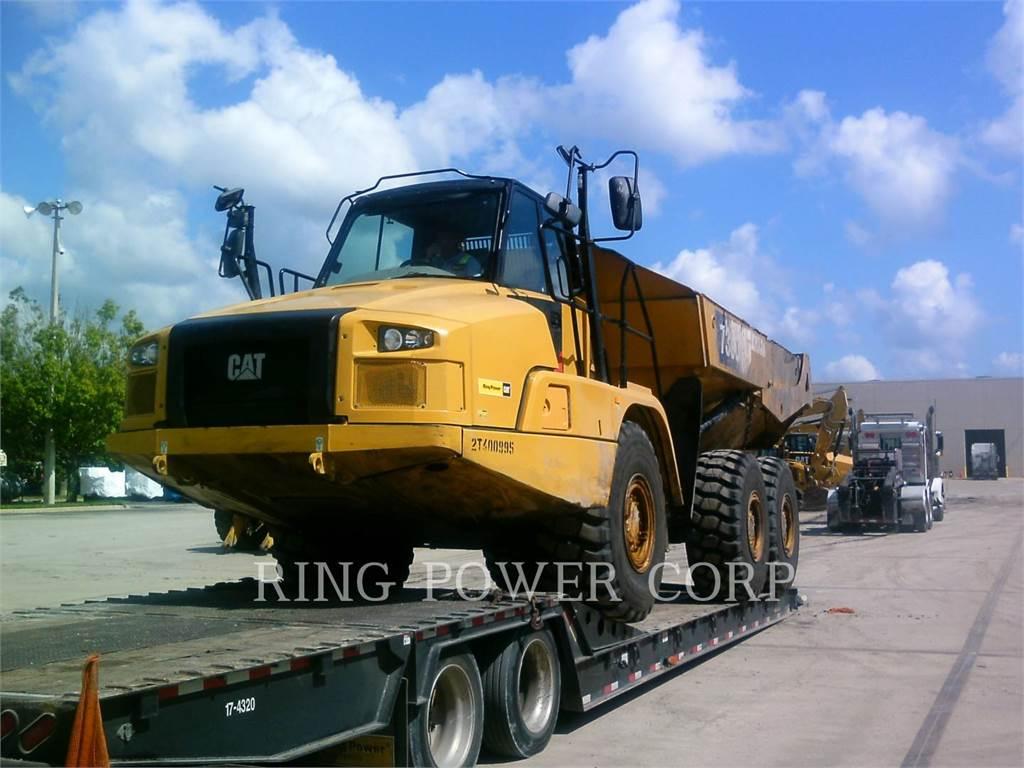 Caterpillar 730C2TG、铰接式自卸车、建筑设备