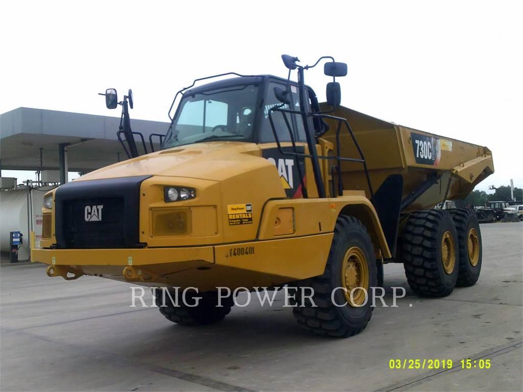 Caterpillar 730C2TG, Transportoare articulate, Constructii