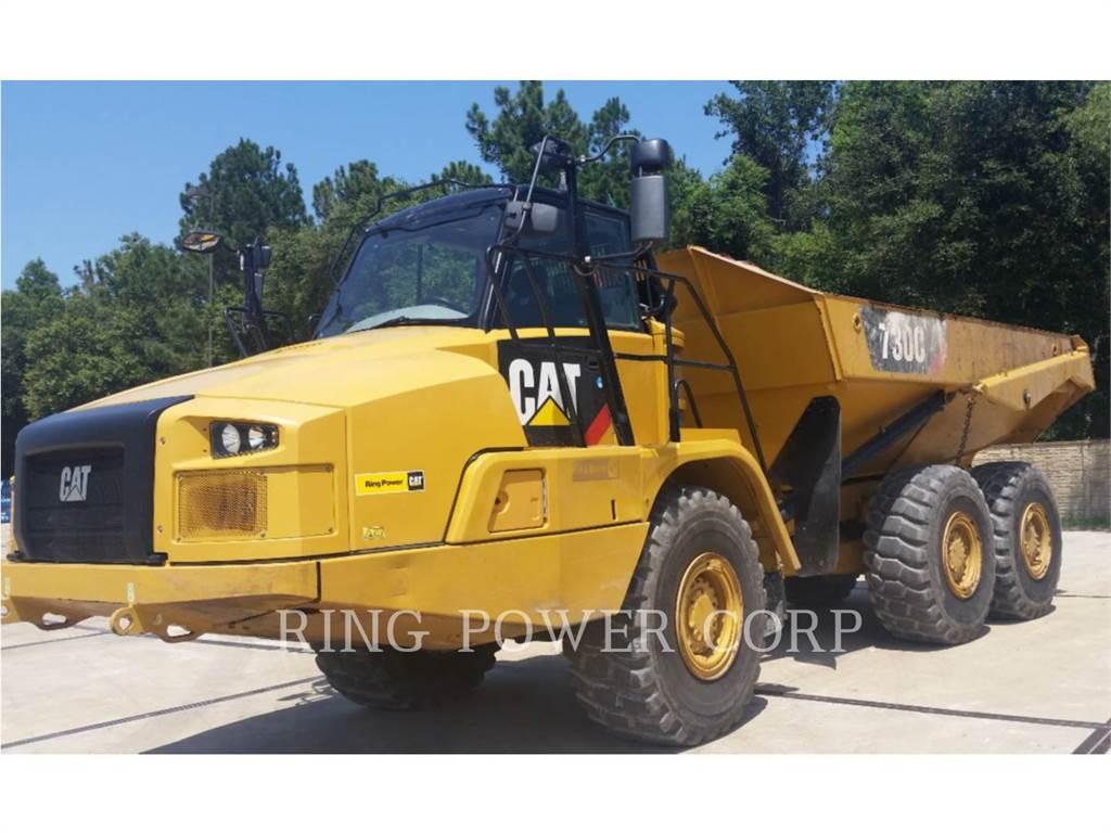Caterpillar 730CTG、铰接式自卸车、建筑设备