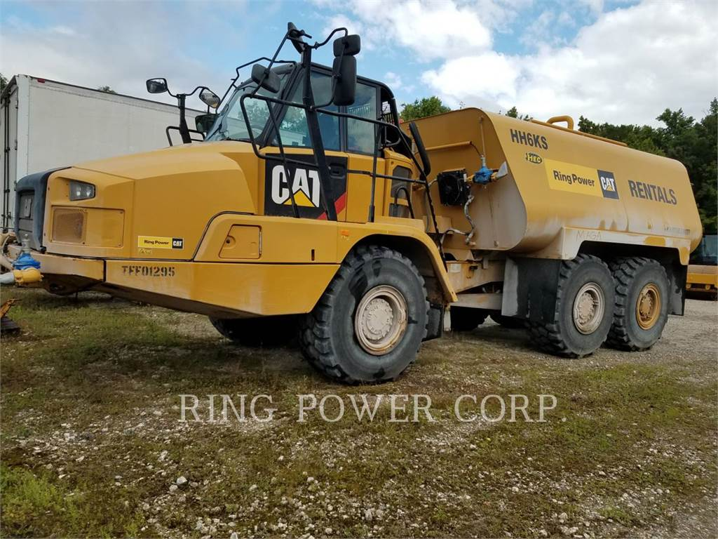 Caterpillar 730CWW, water trucks, Transport