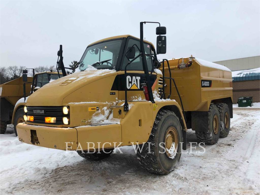 Caterpillar 730WT, Articulated Dump Trucks (ADTs), Construction