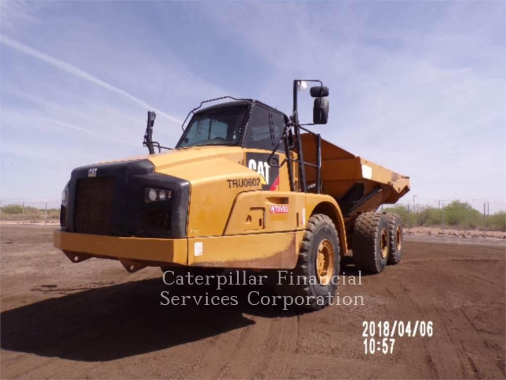 Caterpillar 735B, Articulated Dump Trucks (ADTs), Construction