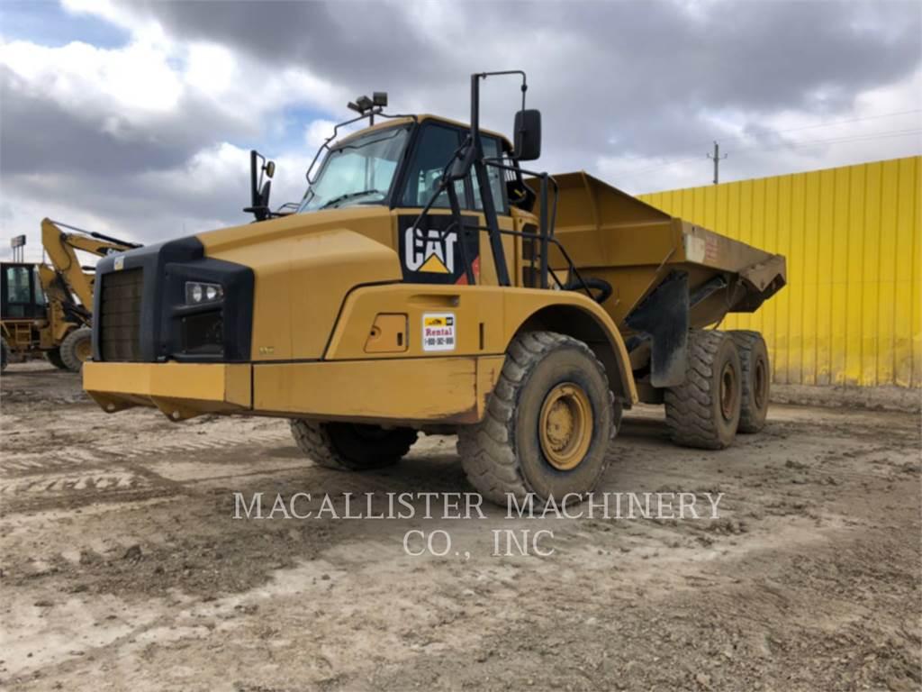 Caterpillar 735B, Dúmpers articulados, Construcción