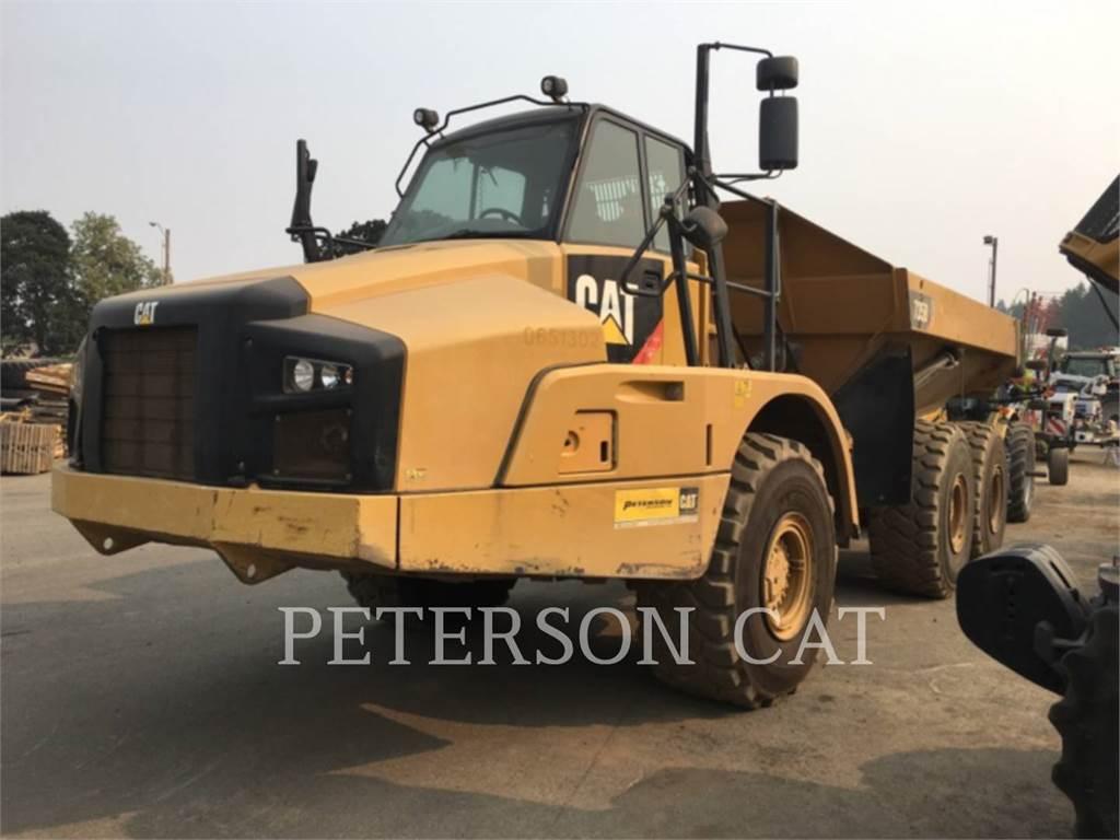 Caterpillar 735B, Dumper - Knickgelenk, Bau-Und Bergbauausrüstung