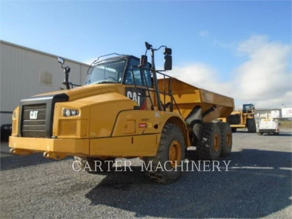Caterpillar 735C, Articulated Dump Trucks (ADTs), Construction
