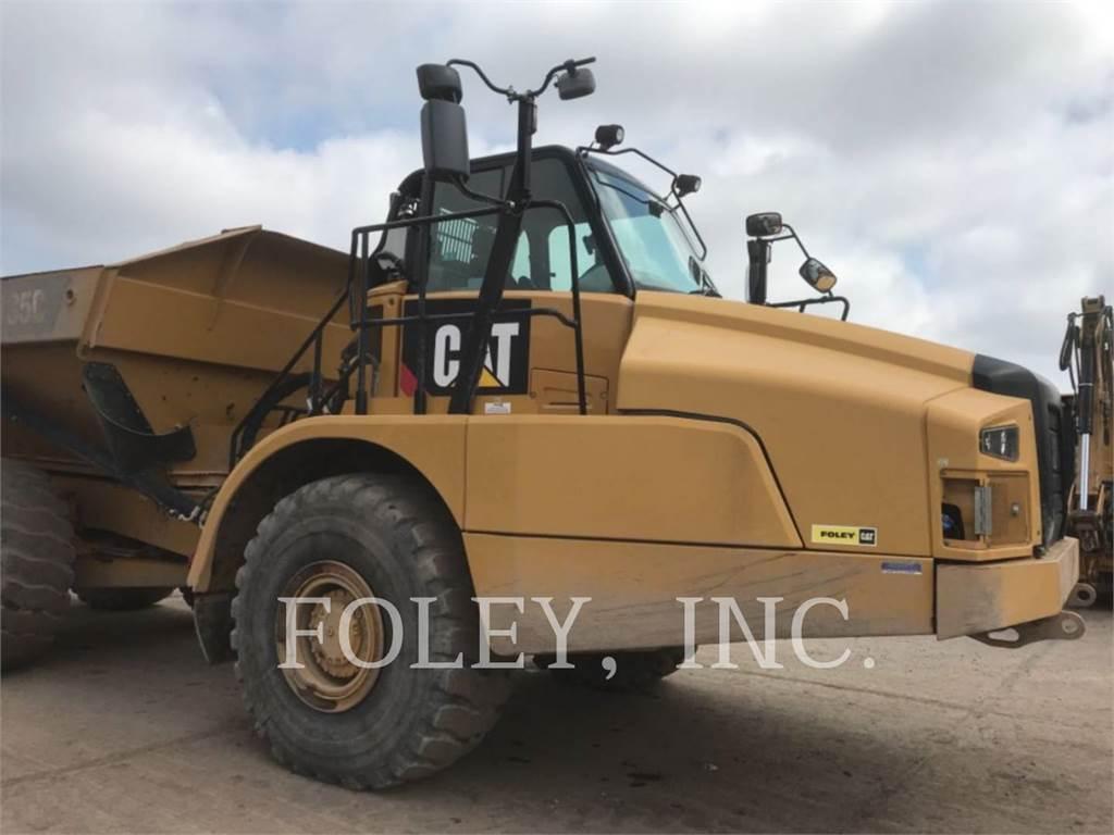 Caterpillar 735C, Transportoare articulate, Constructii