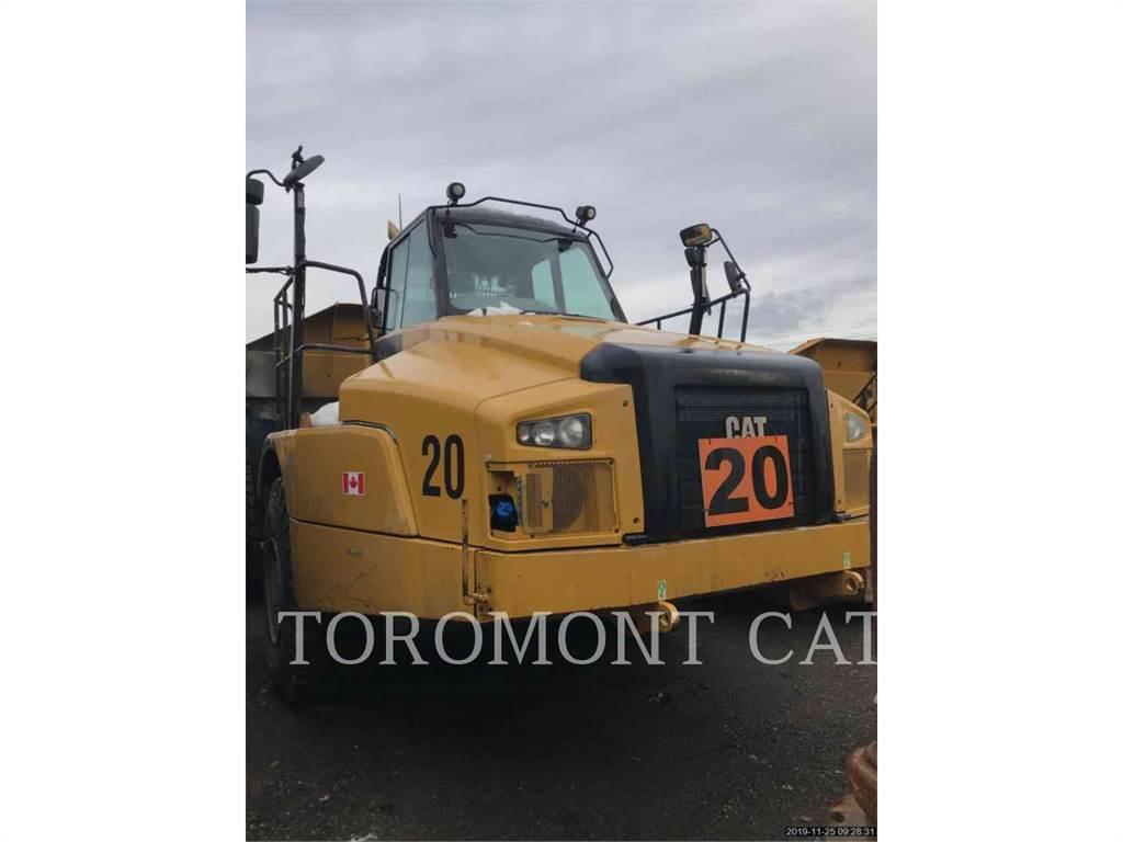 Caterpillar 735C, Articulated Dump Trucks (ADTs), Construction