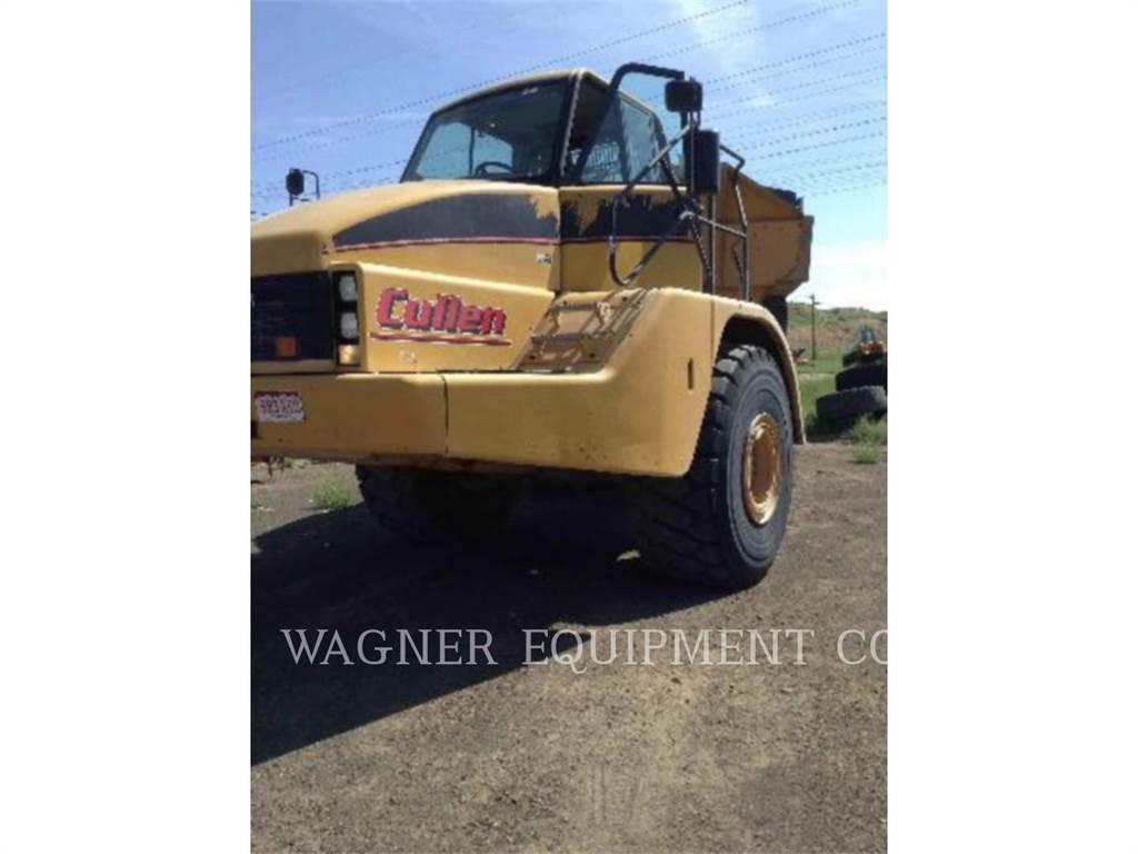 Caterpillar 740, Articulated Dump Trucks (ADTs), Construction