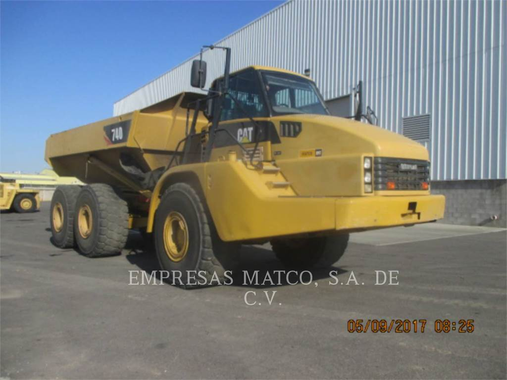 Caterpillar 740, Camiões articulados, Equipamentos Construção
