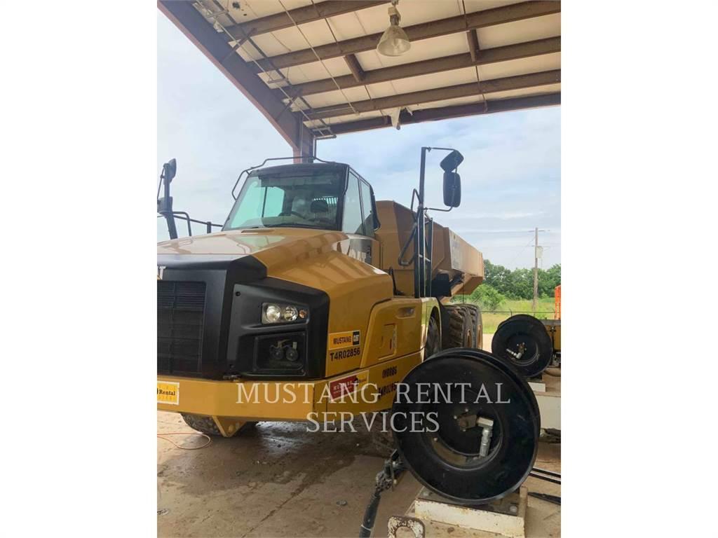 Caterpillar 740、铰接式自卸车、建筑设备