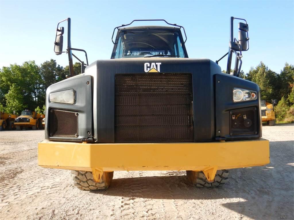 Caterpillar 740 B, Dúmpers articulados, Construcción