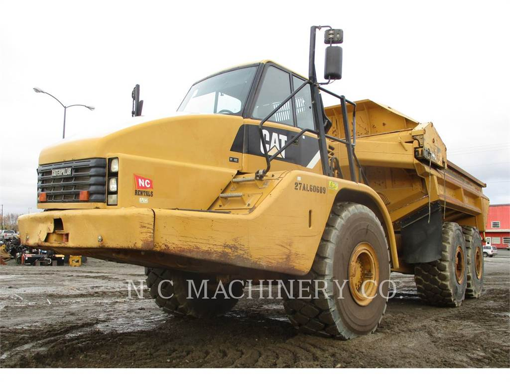 Caterpillar 740 EJECT, Articulated Dump Trucks (ADTs), Construction